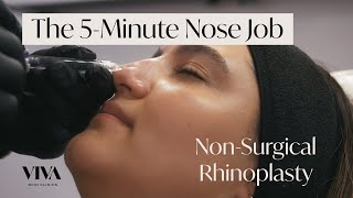 The 5-Minute Nose Job - Non-Surgical Rhinoplasty | VIVA Skin Clinics