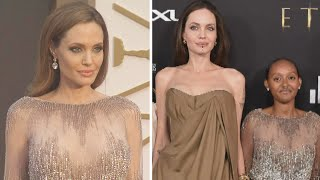 Angelina Jolie's Daughter Wears Her Dress From 2014 Oscars