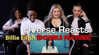 rIVerse Reacts: Bad Guy & When the Party's Over by Billie Eilish (Double Feature Reaction)