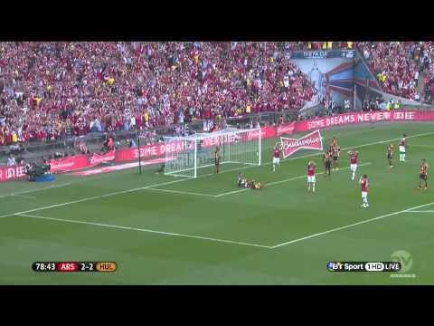 Gibbs miss FA cup final arsenal vs Hull
