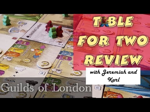 Guilds of London Table for Two Review