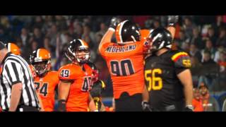 Dutch Lions vs Belgian Barbarians  - American Football Nederland