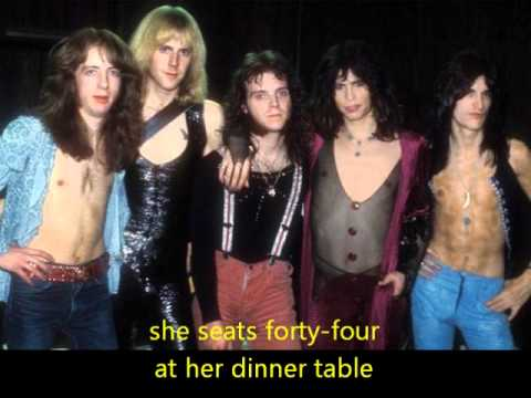 Aerosmith Woman Of The World (with Lyrics)