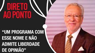 Alexandre Garcia explica sua saída da CNN Brasil