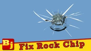 How to Repair a Rock Chip in a Windshield