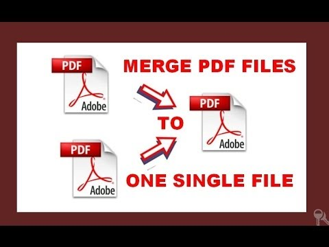 how to merge different PDF files in to one single pdf file (one below another)