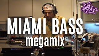 MIAMI BASS tribute megamix by DJ LUTER ONE - 100% VINYL