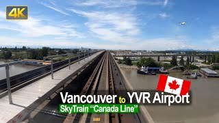 SkyTrain Ride | The 'Canada Line' from Vancouver Waterfront to YVR Airport