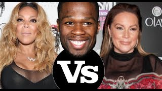 50 Cent BLASTS Wendy Williams 'Angie Martinez Rush to TV so we don't have to see the beast' Congrats