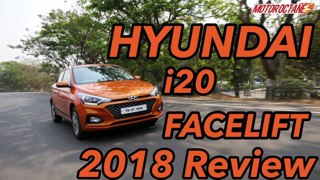 Motoroctane Youtube Video - Hyundai i20 facelift 2018 Review in Hindi | MotorOctane