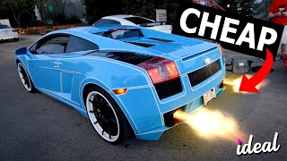 The CHEAPEST Lamborghinis You Can Buy