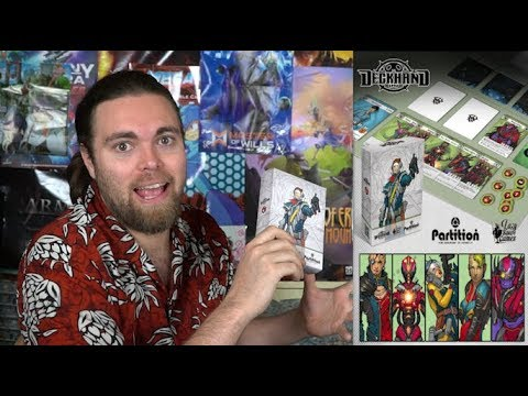 Partition - Deck Hand - Card Game Review