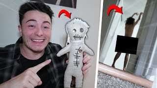 I PRANKED MY BESTFRIEND WITH A VOODOO DOLL AND WE SAW THIS!! (GONE WRONG)