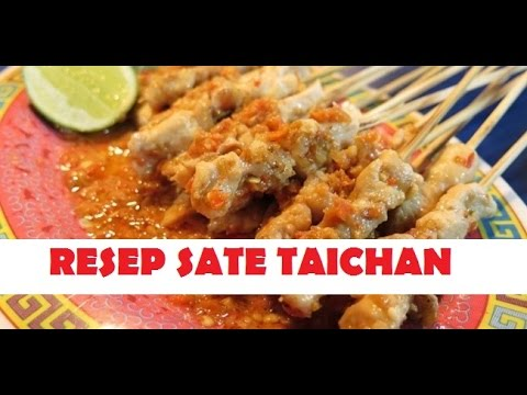 Video Resep Sate Taichan Enak Ala Rumahan