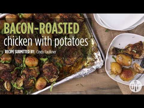 How to Make Bacon-Roasted Chicken with Potatoes | Dinner Recipes | Allrecipes.com
