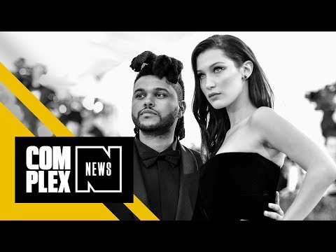 The Weeknd and Bella Hadid Reportedly Spotted 'Kissing All Night' at Coachella