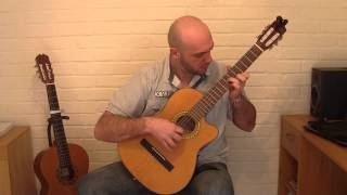 W.A Mozart - Rondo Alla Turca (Turkish March) Classical guitar