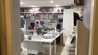 Craft Room Tour 2020!