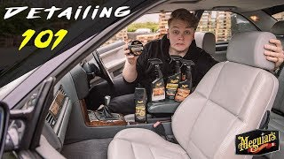 Cleaning & Protecting Leather - Meguiar's Detailing 101 – UK Edition