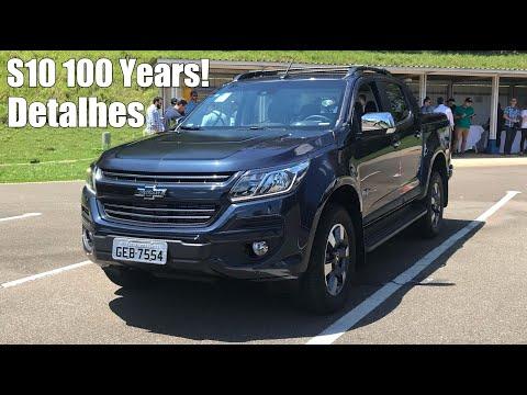 Nova Chevrolet S10 2018 100 Years Diesel - Falando de Carro