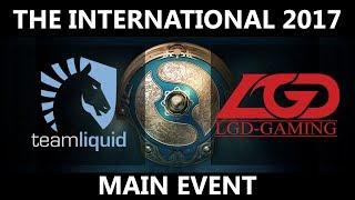 Team Liquid vs LGD GAME 2, The International 2017, LGD vs Team Liquid