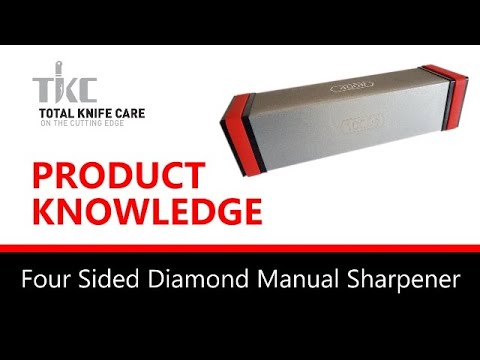Product Knowledge/Demo - 4 SIDED DIAMOND MANUAL SHARPENER