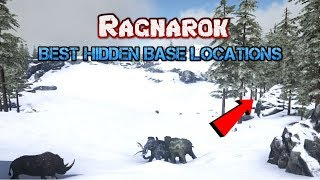 Ark Ragnarok base locations (Hidden) 2019 - Самые лучшие видео