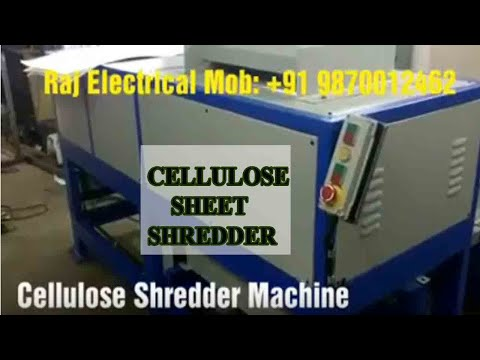 E Waste Shredder Machine