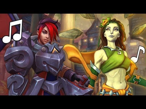 Paladins Song - Hitting my Stun (The Wanted - Chasing the Sun PARODY)  ♪