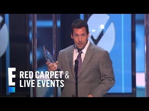 The People's Choice for Favorite Comedic Movie Actor is Adam Sandler | E! People's Choice Awards (видео)