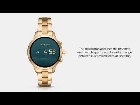 Michael Kors Access Runway Smartwatch | Functionality