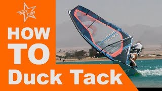 Windsurfing Tutorial How to Duck Tack
