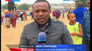 NASA Campaigns : Raila Odinga leads his team in quest to woo Kajiado residence