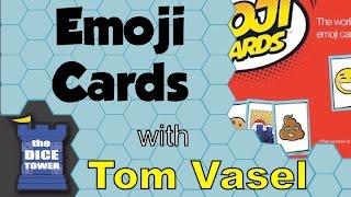 Emoji Cards Review - with Tom Vasel