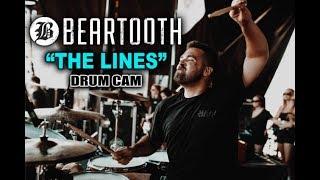 Connor Denis | Beartooth | The Lines | Drum Cam (LIVE)