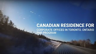 Canadian Residence For Corporate Offices In Toronto. Ontario PNP Program