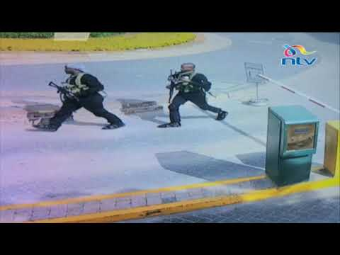 CCTV Cameras show how suspected terrorists accessed Kenyan hotel