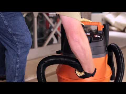 RIDGID WD1450 High Performance Wet/Dry Vac