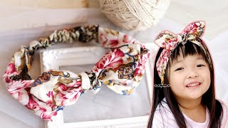 DIY Cotton Headband Tutorial - How To Make A Headband Out Of Fabric