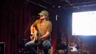 """Eric Church """"What I Almost Was""""  at Tootsies Nashville"""