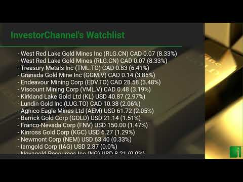 InvestorChannel's Gold Watchlist Update for Tuesday, July  ... Thumbnail