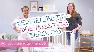 Beistellbett - Was musst Du beim Kauf beachten? | Hebammentipps von Anna-Maria | babyartikel.de