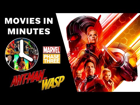 ANT-MAN AND THE WASP in 3 minutes (Movie Recap)