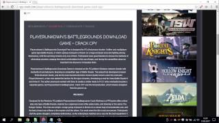 Playerunkowns Battlegrounds Download PC Game Full Version and Crack