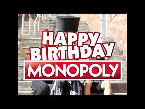 Happy 83rd Birthday Monopoly Social Media Video