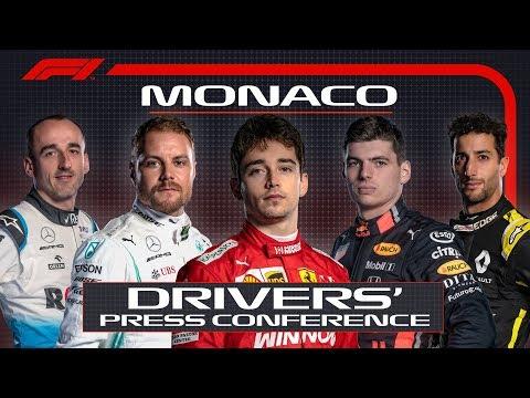 2019 Monaco Grand Prix: Pre-Race Press Conference