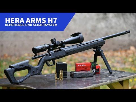 hera-arms: Test und Video: HERA Arms H7-Repetierer und H7-Schaftsystem für Remington 700