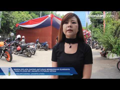 Pilgub DKI Jakarta Putaran Kedua Di Kelapa Gading