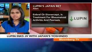Newsroom- Lupin Inks JV With Japan's Yoshindo