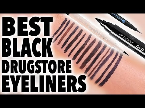 BEST BLACK DRUGSTORE EYELINERS